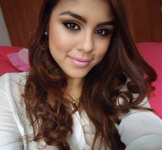 Maquillaje ojos intensos y labios rosado Barbie ♡