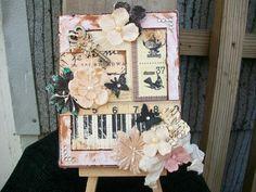Prima Almanac Altered Canvas - Scrapbook.com