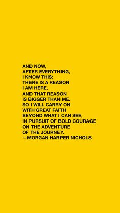 A quote about life — Purpose quotes, quotes about purpose, faith quotes, courage quotes, adventure quotes, journey quotes, morgan harper nichols quotes, career quotes, progress, the process, entrepreneur quotes, knowing your why, why am I here, instagram captions, yellow aesthetic, aesthetic quotes