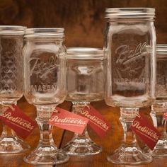 Fancy Redneck Wine Glasses for $16 on BourbonandBoots.com