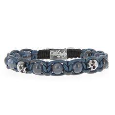 69ee3519aa7c K.I.S.S. bracelet en Kyanite et argent. Bijoux RockAccessoire HommeBijoux  ...