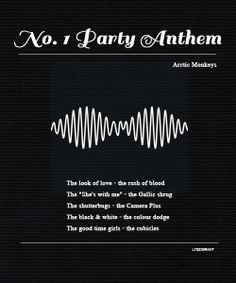 No. 1 Party Anthem - Arctic Monkeys
