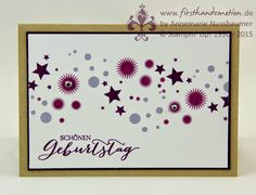First Hand Emotion: Perpetual Birthday Karte und letzter Sale-a-Bration-Tag Birthday Calender, Perpetual Birthday Calendar, Birthday Wishes, Happy Birthday, Bday Cards, Shaker Cards, Stamping Up, Stampin Up Cards, Card Making