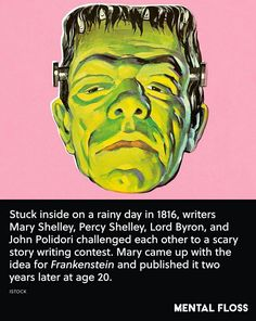 All about writing Mary Shelley Frankenstein, Writing Contests, Lord Byron, Scary Stories, Women In History, Word Porn, Rainy Days, Hilarious, Funny