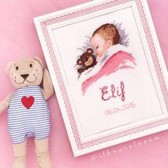 Bebek panosu - Cross stitch baby