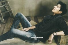 "Lee Min Ho - ""Guess Jeans"" Catalog 14.09.2014"