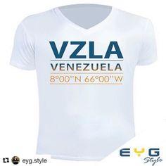 """IG: @eyg.style  Estas son tus coordenadas y las mías las de cada venezolano en el mundo luchando por un día mejor  muéstralas con orgullo porque somos de un país hermoso.  ... Para tenerla contáctanos  al privado o compra en nuestra tienda online http://ift.tt/2srJzAi despachamos por toda Venezuela y el mundo  porque @eyg.style """"te acompaña donde vas""""   INFO  whatsapp 04143227259  contacto@eygtextiles.com  Sitio Web WWW.eygtextiles.com  ya en nuestra tienda en línea http://ift.tt/2srJzAi…"""