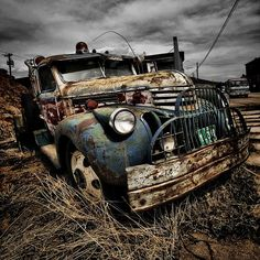abandoned vintage cars | Victor,CO., via Flickr. | Old Abandoned Cars,Trucks,Farm Machinery ...