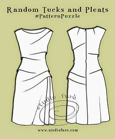 well-suited: Pattern Puzzle - Random Tucks and Pleats