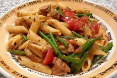 Pasta met Toscaanse kip (recept in Zonder pakjes & zakjes 2), gemaakt door Annelies