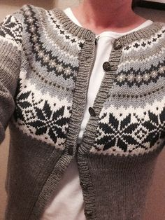 Anitas kreative hjørne : Nancy kofta Knitting Patterns, Knit Crochet, Winter Fashion, Men Sweater, Pullover, Fair Isles, Banana Pancakes, Winter Style, Color