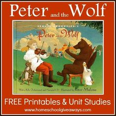 Instruments: Peter and the Wolf FREE Printables and Unit Studies, including powerpoints! Kindergarten Music, Preschool Music, Music Activities, Teaching Music, Music Games, Teaching Tools, Music Lesson Plans, Music Lessons, Carnival Of The Animals