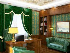 Bürodekor Ideen: Klassisches Bürodesign