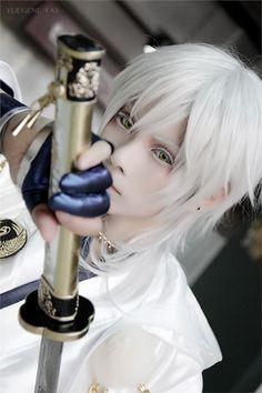 #Touken Ranbu Online YUEGENE(YUEGENE) Tsurumaru Kuninaga Cosplay Photo