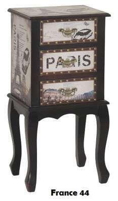 CRIADO MUDO PARIS — DEKORACIO