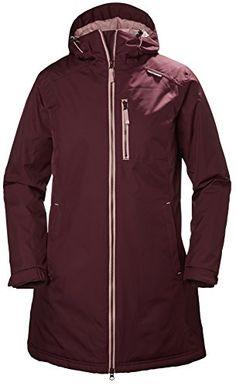 89d31afbc82 Helly Hansen Women s Long Belfast Winter Rain Jacket Zip-up rain jacket  featuring HELLYTECH protection