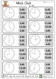 Tell The Time Worksheet Tell The Time Worksheet ,Saatler Hey! Did you check out our new telling time worksheet? We prepared easy tell the time worksheet for kindergarten, preschool, and first graders. Clock Worksheets, Kindergarten Math Worksheets, Maths, Multiplication Worksheets, Math Math, Vocabulary Activities, Preschool Learning, English Worksheets For Kids, Kids Worksheets