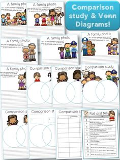 This Family & Friends Bundle contains vocabulary and literacy tasks tied to diverse families, family members and friends. In addition to this, there are writing sheets, a bingo game and vocabulary / flash cards. With a number of different worksheets you will have everything you need to have a fun time learning more about diverse families! This package has been a great hit in my classroom, so just print and go!