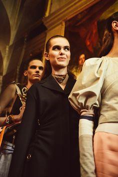 Dior Cruise 2017: Kiernan Shipka, Bella Hadid, and More Take London - -Wmag