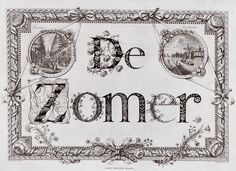 Barent de Bakker, Cornelis Focking. De Zomer. Amsterdam, 1788. Rijksmuseum.