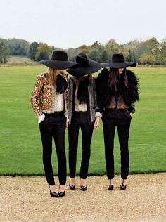 Gal Pal Couture Captures : Collective Spirit Vogue UK