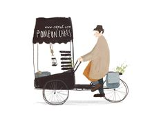ON THE ROAD by Oamul Lu, via Behance