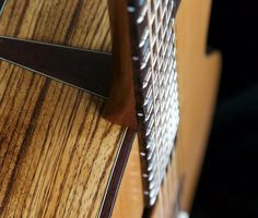 Soderlund Guitars short multiscale, medium-bodied acoustic in zebrano and douglas fir. Douglas Fir, Acoustic, Bling, Medium, Music, Guitar, Muziek, Musik, Medium-length Hairstyle