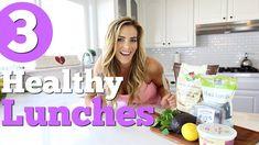 3 Quick & Healthy Lunch Ideas! Quinoa Lentil Bowl, Chicken Salad Wrap, A...
