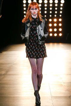 Saint Laurent Fall 2015 Ready-to-Wear Fashion Show - Look 23,Meredith Mackworth-Praed