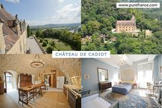 #Chateau de Cadiot sleeps 16 in the #Dordogne. Visit our website to see more: www.purefrance.com/24143