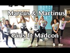 Girls - Marcus & Martinus ft Madcon - Easy Kids Fitness Dance - Warming-up Choreography - YouTube