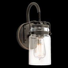 Kichler Lighting Brinley - One Light Wall Bracket 45576 - Wall Lighting / Sconces - Transitional Lights