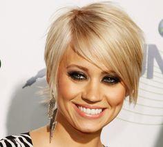 above chin, near cheekbone short hair, via Holly Would if She Could #bob