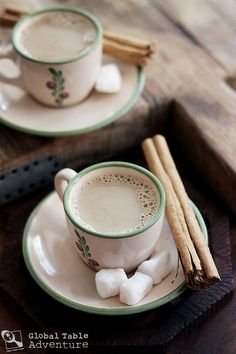 Pakistani Coffee with Cinnamon & Cardamom (sounds like a soul warming drink on a cold fall day)