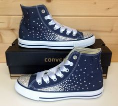 Swarovski Scatter Crystal Converse - not a fan of the crystals themselves, but I like the ombre effect