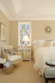 Palisades Stunner - Furnished by DTM Interiors traditional bedroom with Oly Studio #laylagrayce #olystudio #bedroom