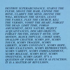 "In her early years as an artist, Jenny Holzer began working with text as a tool to manipulate the language of pop culture while producing political commentary. Her work usually consisted of aggressive statements meant to propel the passive viewer into an act of questioning. Her ""Inflammatory..."