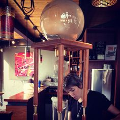 Oji slow drip cold coffee.  I just want this for my house.  On tap at all times.