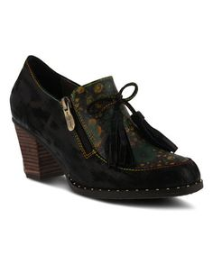 L'Artiste by Spring Step Spring Step, Walk On, Leather Ankle Boots, Shoe Collection, Wearable Art, Footwear, Wedges, Heels, Black