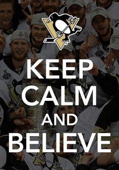 Penguins hockey.