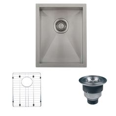 constructed of heavy duty stainless steel this sink is built to last for years  the eight inch deep bowl allows ample     43 inch stainless steel undermount butterly corner double bowl      rh   pinterest com
