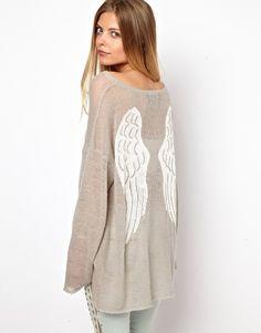 Bild 1 von Wildfox White Label – Guardian Angel – Pullover