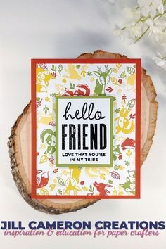 Cards For Friends, Friends In Love, Cute Cards, Diy Cards, Concord And 9th, Stamp Making, Winter Cards, Sympathy Cards, Stamp Sets