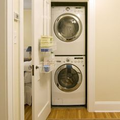Small Laundry Room for my hallway cupboard