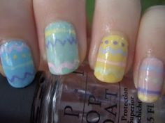 Easter nails by rdmatous