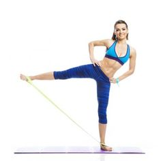 5 Surprising Anti-ageing Fitness Moves - Health and Wellbeing Yoga Fitness, Workout Fitness, Hiit, Exercices Swiss Ball, Glute Strengthening, Hip Muscles, Resistance Band Exercises, Types Of Yoga, Yoga Tips