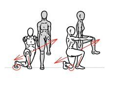 PreHab Exercises - Curtsy Lunge for Hip Activation, Mobility and Stability