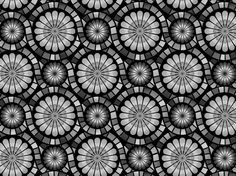 """Mosaic flowers v2"" by yoksel mosaic, yoksel, flowers, floral, ykl"