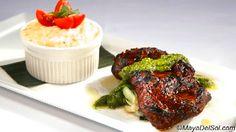 churasco | adobo marinated flat iron steak · creamy risotto · bok choy · chimichurri Appetizer Recipes, Appetizers, Flat Iron Steak, Weekly Specials, Drink Menu, Chimichurri, Latin Food, Food Plating, Risotto