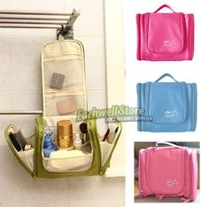 New Travel Toiletry Wash Cosmetic Bag Makeup Storage Case Hanging Grooming